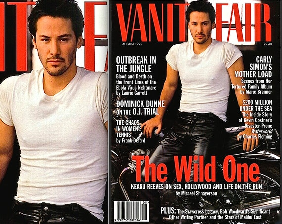Keanu Reeves Vanity Fair Cover Photographed By Annie