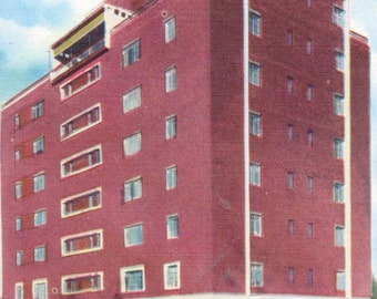 Anderson, South Carolina, Wilmary Apartment Building - Linen Postcard - Unused (W)
