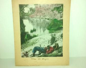 Original Inked Music Score , The Ol' Bayou , Unpublished Zac Truax