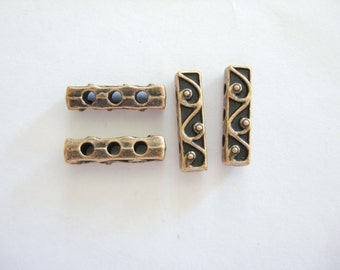 Copper Spacer Bars, Copper Findings, Copper Jewelry Supplies