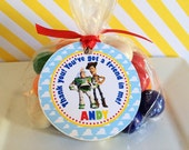 12 Toy Story Birthday Party Favor Tags
