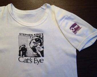 Original 1980's Cat's Eye t-shirt, small