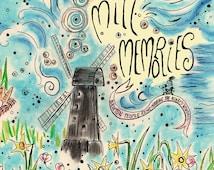 Custom Book Cover Art. Book illustration art. Memory book. Creative memories book cover design. Personalized wedding book.