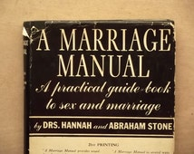 Vintage 1930s Marriage Manual by Hannah and Abraham Stone