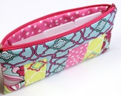 Cash Budget System - Pencil Pouch - Cosmetic Case - Zippered Pouch - 6 Dividers (optional) - READY to SHIP