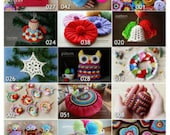 Crochet Patterns - Pick Any 3 Crochet and Knitting Patterns Bundle