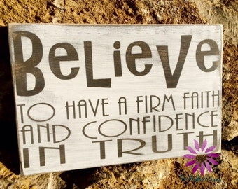 BELIEVE Definition