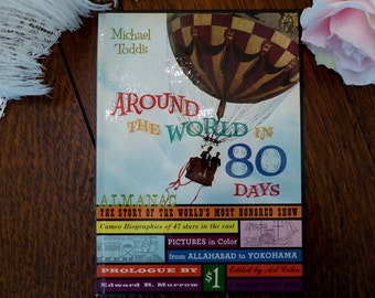 Around The World in 80 Days Souvenir Book 1956 Michael Todd's Movie Motion Picture Film