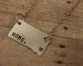 SD Home Necklace