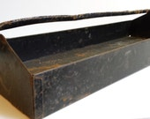 Vintage Industrial Tool Tray Carrier