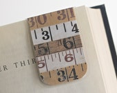 Magnetic Bookmark, Laminated, Ruler, Woodworking, Sewing, Crafting, Measure, Teaching Gift, College Student, Education, Ready To Ship