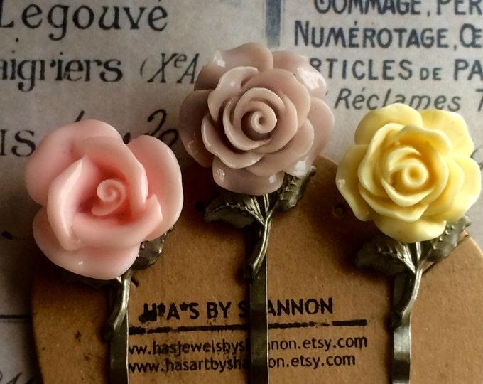 Hair Accessories, Hair Pins, Rose Hair Accessories, Bobby Pins, Vintage Hair Pins, Women's Hair Pins, Wedding Hair Pins, Trending Hair Pins