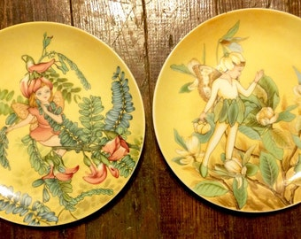 Set of 2 Crowne Fairy plates