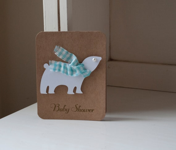 Items Similar To Polar Bear Invitations Baby Shower First