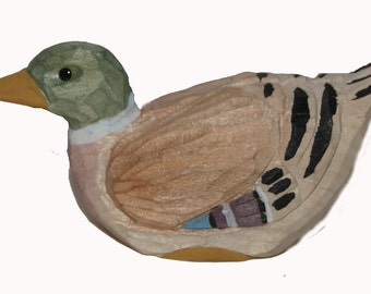 1 pc 3 Inch Wood Duck (Delbert) CLOSEOUT PRICE!