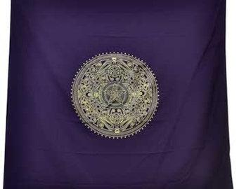 Purple High Quality Altar Cloth