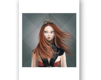 "IGNATIA (elementals) Square version - PRINT - Open Edition - 17x17 cm unframed - ""IGNATIA (elementals)"