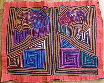 Kuna Indian Mola Panama