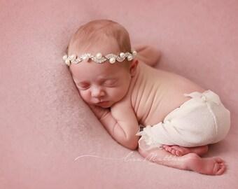 Newborn Baby Coral Pantaloons Photo Prop Newborn , Photo Prop, Beautiful