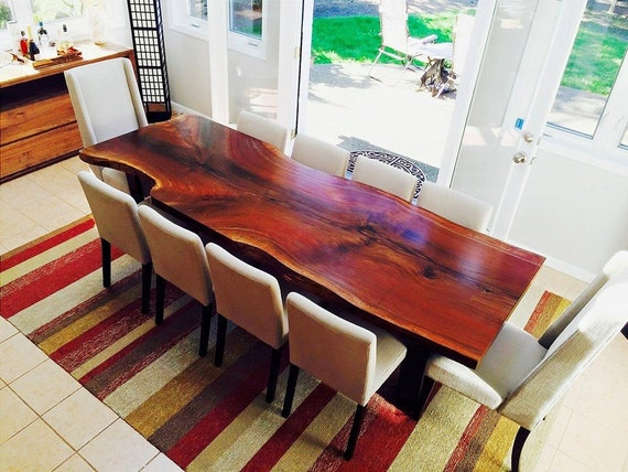 Your Custom Black Walnut Dining Tables And Kitchen Tables