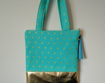 Ready to ship! Kids zippered tote