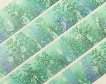 Waterweeds - Japanese Washi Masking Tape - 25mm wide - 7.6 yards