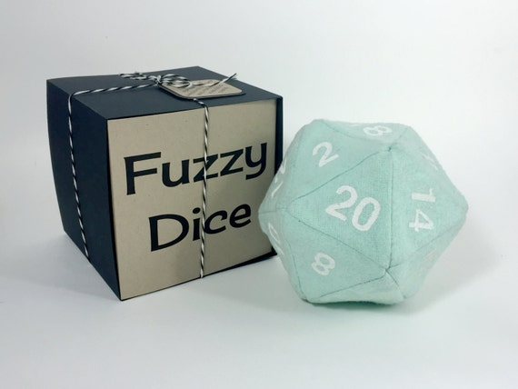 Fuzzy Dice Stuffed Toy