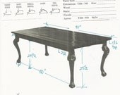 Custom Hearst Dining Table