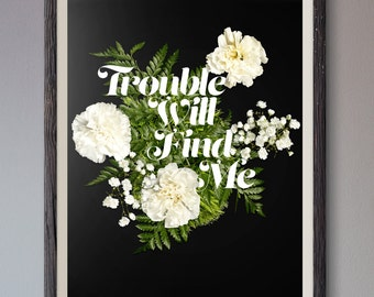 The National - Trouble Will Find Me Poster