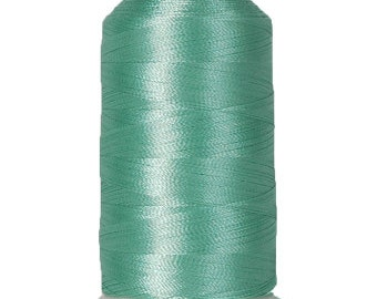 No. 208 (Sea Foam) 1000m Polyester Spool of Embroidery Machine Thread
