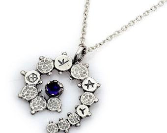 Gorgeous Silver Spirituality Amulet,gifts,art,ufo,science fiction,pendant,jewelry,talisman