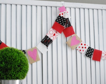 Valentine's Day Scrappy Banner *Free Shipping