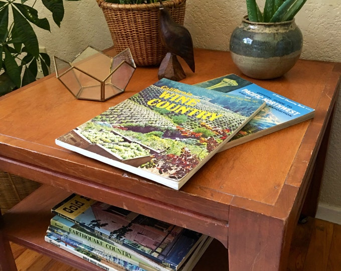 Vintage Sunset Travel Guide Books / Magazines - 1950s through 1980s - Vintage Retro Mid Century Coffee Table Reference Books