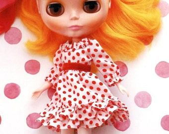 Blythe Ruffled Chiffon Dress Sewing Pattern PDF English templates names,Sewing key included
