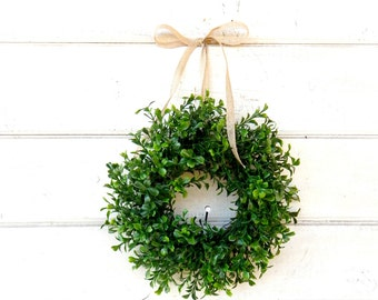BOXWOOD & FERN Wreaths
