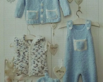 Baby Boy Dungarees Knitting Pattern : Dungaree pattern Etsy