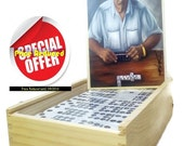 Buy 1 Dominoes Set , Get 2nd 50 % Off. Professional Dominoes Set double Nine with Artwork.
