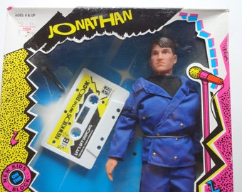 Vintage NKOTB Jonathan Knight Doll NEW 1990