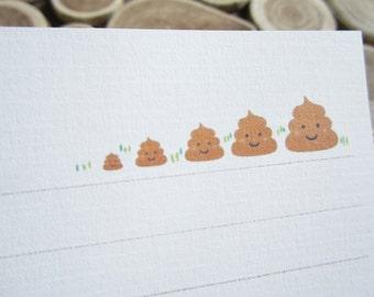 letter paper / pooop