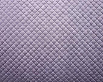 Maille matelassée mauve - 50 cm