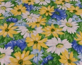 Field of Daisies Cotton Fabric