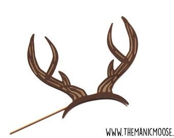 Photo Booth Props -  Deer Antlers Photo Prop