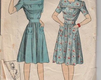 1940's Sewing Pattern DuBarry 5587 size 14 bust 32