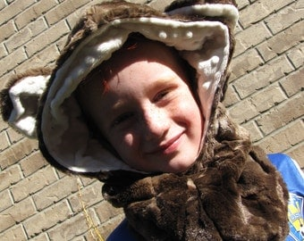 Bear Winter Hat Cowel