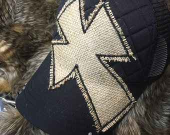 Old rugged cross hat