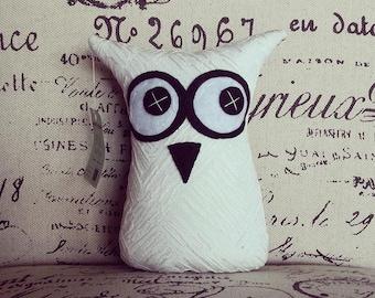 Handmade Owl Softies   Black and White   18cm Original   Baby   Boys   Girls   Gifts