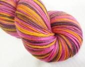 Crazy Sock Lite  MCN - Merino / Cashmere / Nylon - Tropical Sunset