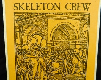 Vintage concert poster Skeleton Crew Fred Frith Tom Cora The Recital Hall poster