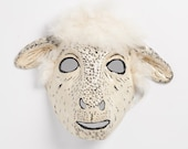 sheep paper mask