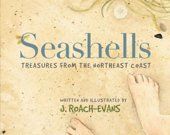 Seashells - Treasures from the Northeast Coast, SIGNED Book
